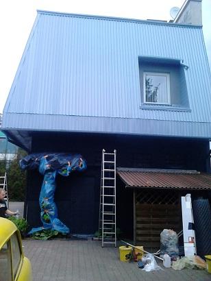 Dach malowany Rust Killem